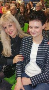 Działania fundacji wspierały Lena Ilewska, prowadząca m.in. zajęcia z coachingu zdrowia (po lewej) oraz psycholog Małgorzata Laskowska (po prawej), prowadząca spotkania na temat chorób później starości.